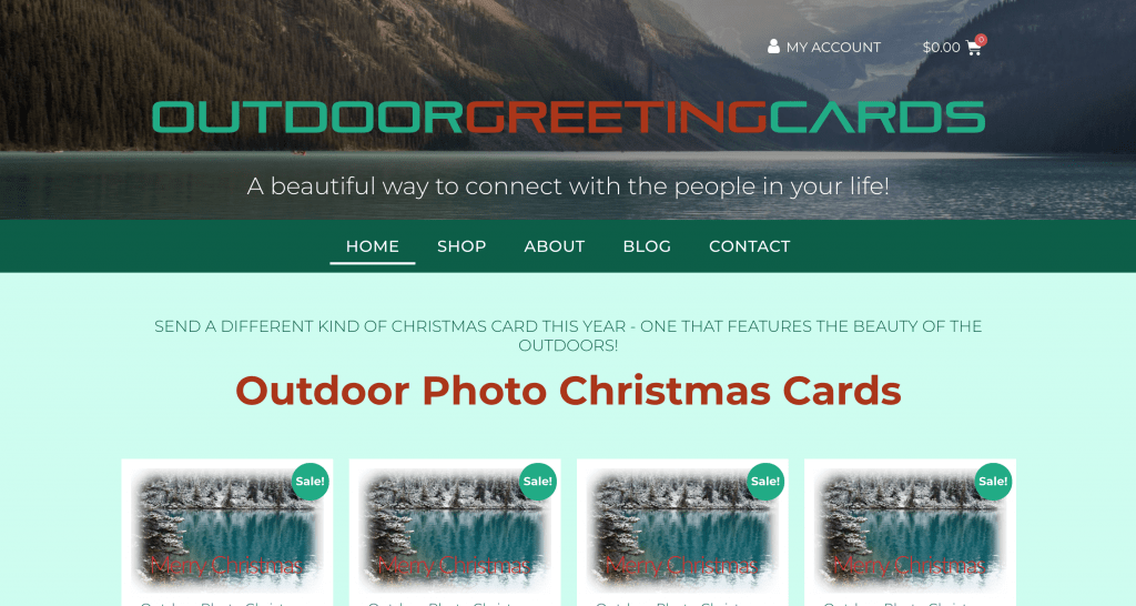 Outdoor Greeting Cards