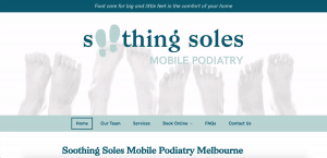 Soothing Soles Mobile Podiatry